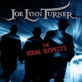 Joe Lynn Turner - The Usual Suspects (cd Não Lacrado)