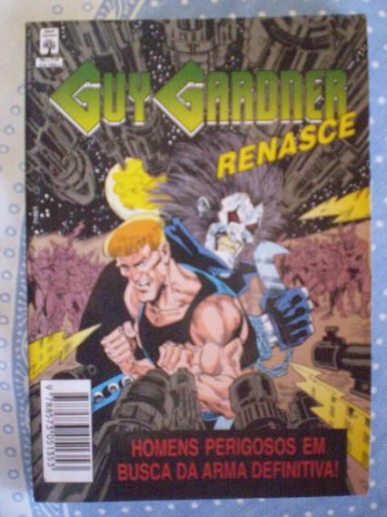 Guy Gardner Renasce! Com Lobo! Ed. Abril Jan 1995!