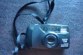 Camera Fotografica Pentax Mod Espio 738 Com Capa