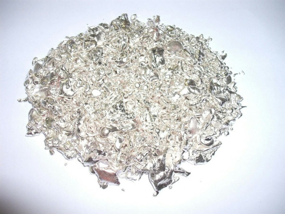 Prata Pura 1000 Granulada Direto Da Fundição-dantas 200g