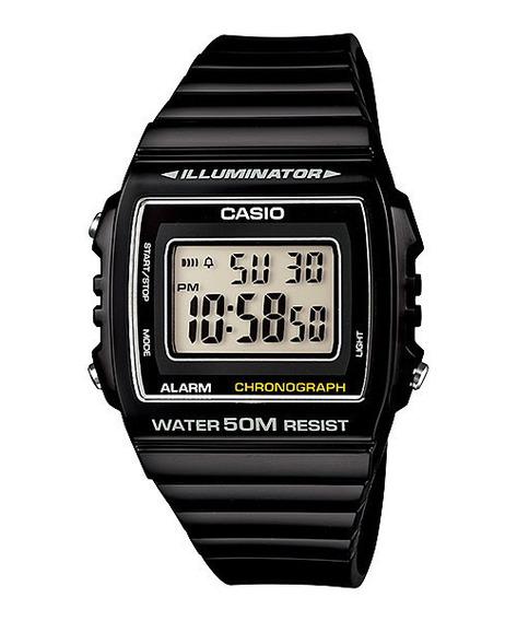 Relógio Casio W-215h-1av Digital Cronômetro Alarme Original