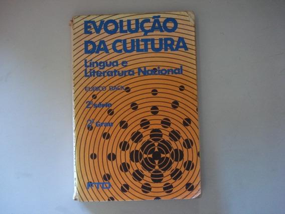 Livro Evolução Da Cultura Língua E Literatura Nacional Back