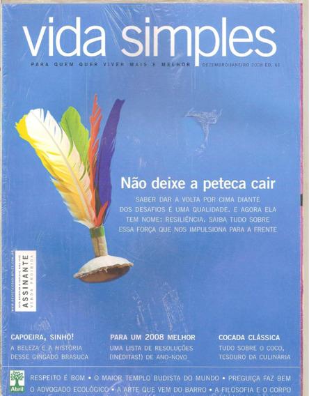 Revista Vida Simples - Não Deixe A Peteca Cair
