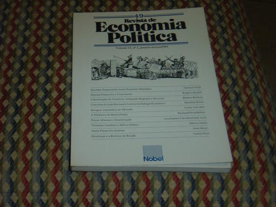 Revista De Economia Política, Março 1993