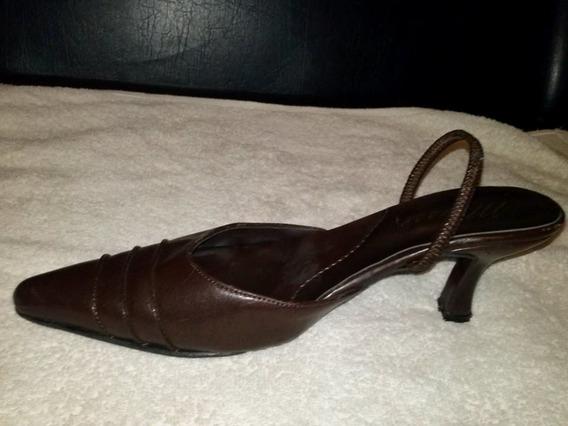 Zapatos Color Marron Usado Talle 37 Liquido X Mudanza!!!!!