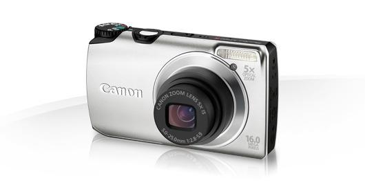 Câmera Digital 16mpx Canon As3300is + Cartão De 2 Gb
