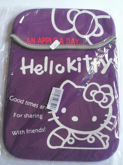 Capa Hello Kitty P/ Ipad, Notebbok, Netbook 10