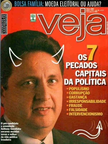 Imagem 1 de 1 de Veja 1954 * 03/05/06 * Os 7 Pecados Capitais Da Política
