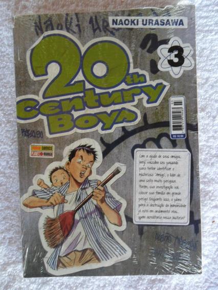 20th Century Boys! Vários! R$ 15,00 Cada! Panini 2012!