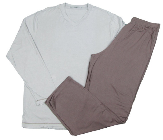Pijama Masculino Viscose Calça Comprida Romeu Inverno