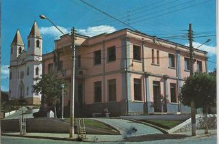 Mcm-0021- Postal Miracema, R J- Igreja Matriz E Prefeitura