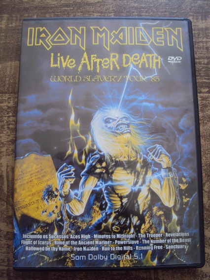 Iron Maiden Live After Death Dvd