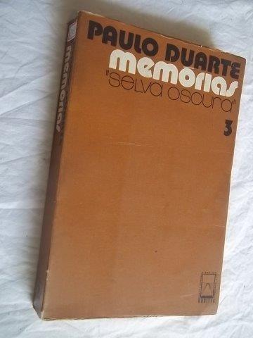 Livro - Paulo Duarte - Memorias 3 - Literatura Nacional