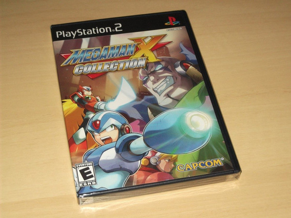 Ps2 - Mega Man X Collection (americano)