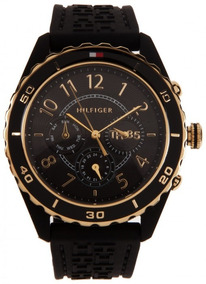 Relógio Tommy Hilfiger Th1781103 Orig Chron Anal Black