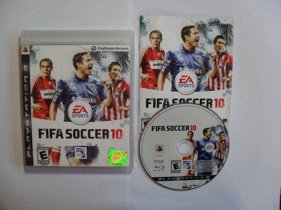 Fifa Soccer 10 - Playstation 3 Americano Completo