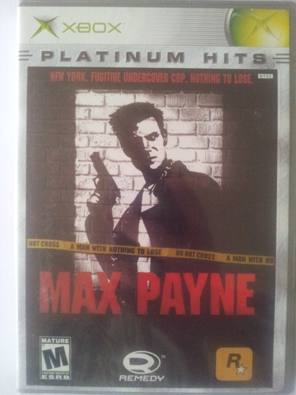 Jogo Max Payne Xbox Raridade Lacrado Unico