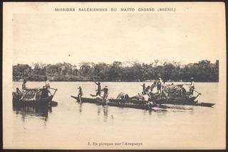 Mato Grosso - Em Piroga Sobre O Araguaia