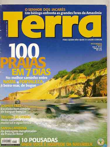 Terra - 100 Praias Em 7 Dias/ Joshua Tree/ Santa Catarina
