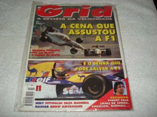 Ayrton Senna Revista Grid Setembro/1993 Senna Pode Salvar F1