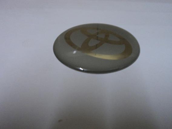 Emblema Toyota Adesivo Para Rodas Esportivas 58mm