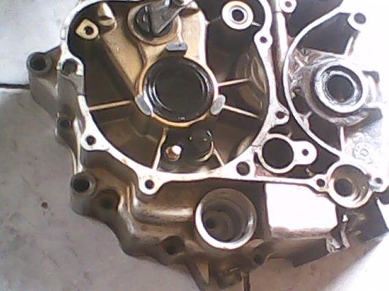 Carcaça De Motor De Kasinski Seta 125 Esquerda