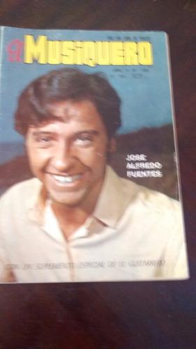 Revista El Musiquero  N° 185 - Jose Alfredo Fuentes  Ba(480