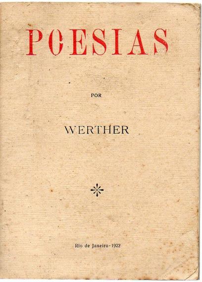 Poesias - Werther - 1ª Edição