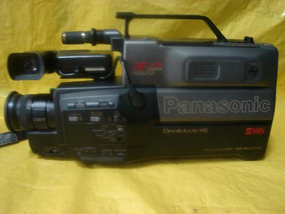 Filmadora Panasonic S-vhs - Pv-s445d - Impecavel - Completa