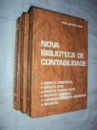 Nova Biblioteca De Contabilidade - 3 Volumes (sebo Amigo)