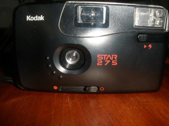 Câmera / Máquina Fotográfica Antiga Kodak Star 275