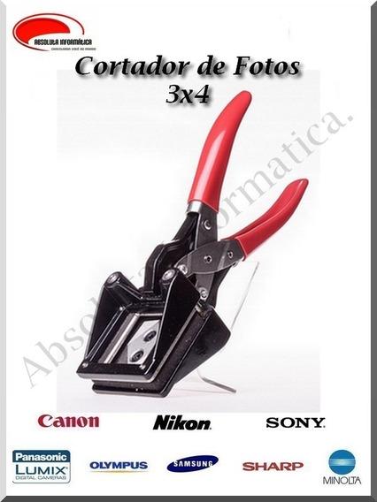 Alicate Cortador De Fotos 3x4