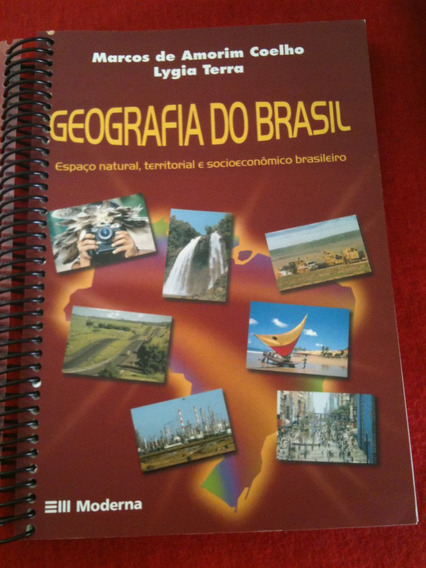 Livro Geografia Do Brasil