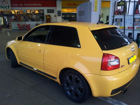 Audi S3 1.8t 300cv Amarelo Imola Fueltech Só R$75mil