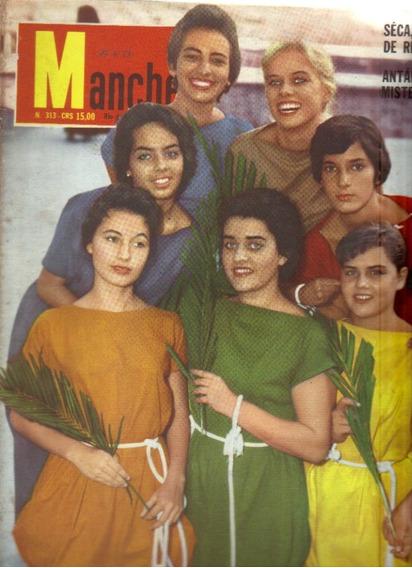 Revista Manchete Nº 313-rio De Janeiro-19 De Abril/1958