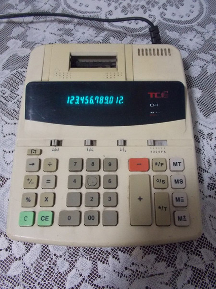 Calculadora Tcê Modelo C-410