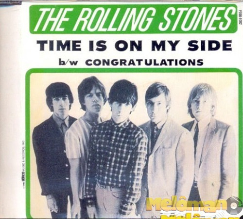 The Rolling Stones-time Is On My Side B/w Congratulations-cd