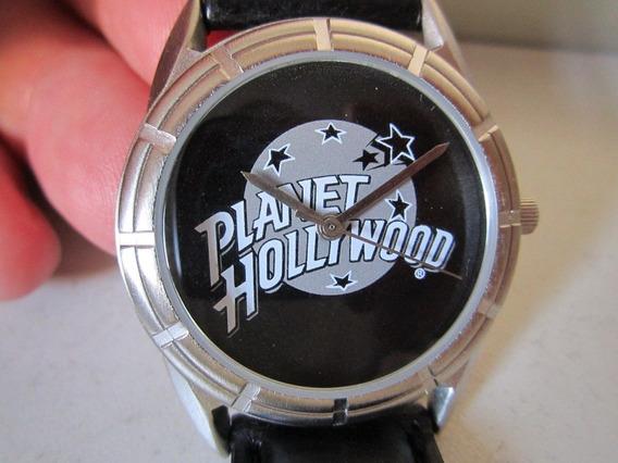 Relógio De Pulso Fossil Com- Emblema Planet Hollywood