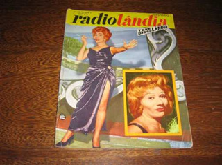 Radiolândia Nº 291 Outubro /1959 Capa : Nádia Maria