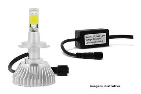 Lâmpada Led 6000k - 2600 Lumens H4/3 - 12/24 Volts
