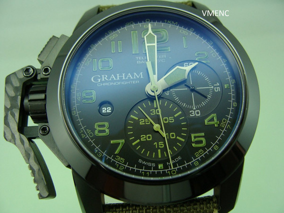 Graham Chronofighter Oversize Green Amazonia