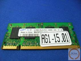 512mb Samsung Original Do Notebook Acer Aspire 4520 4720z