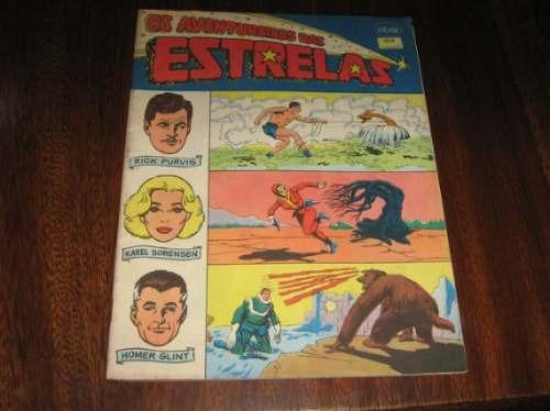 Os Aventureiros Da Estrelas Abril/1983 Editora Ebal Formatão