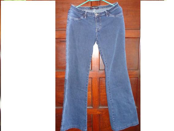 Calça Jeans Feminina Blue Steel Com Elastano