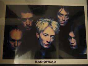 Poster Banda Grupo Radiohead Importado Raro