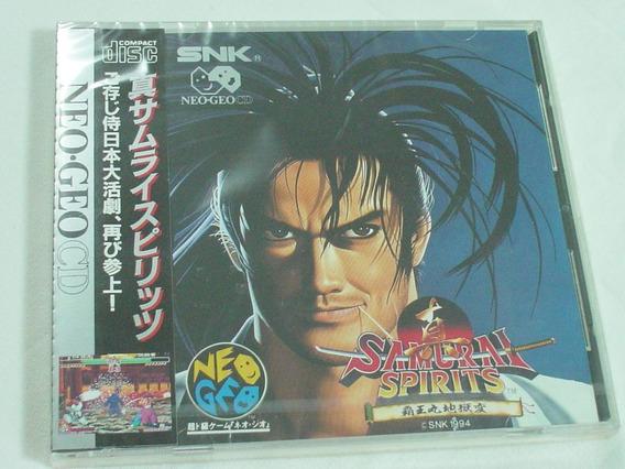 Neo Geo Cd : Samurai Shodown 2 Novo Lacrado