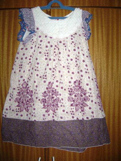 Vestido Florido Importado Tamanho 12