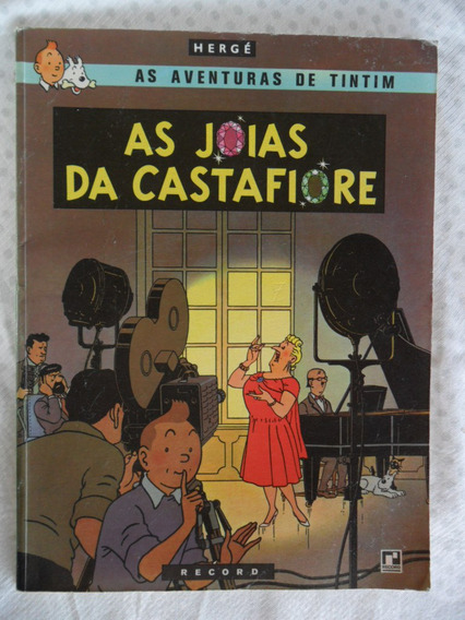 As Aventuras De Tintim! As Jóias Da Catasfiore! Record 1970!
