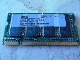 Memória Smart 256mb Pc2700 Ddr (usada)