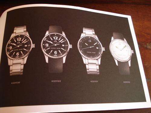 Catalogo De Relogios Calvin Klein Swiiss Made